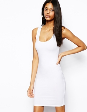9a062cc6be1d ... White Bodycon Dresses Asos Mini Vest Bodycon Dress ...