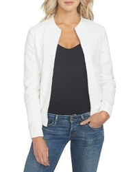 1state eyelet cotton bomber jacket medium 3670554