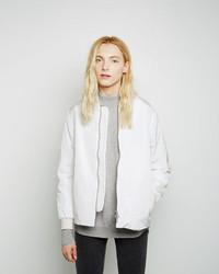 Women's White Bomber Jackets from La Garçonne | Women's Fashion