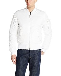 Alpha Industries Ma 1 Slim Fit Bomber Flight Jacket