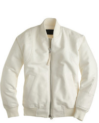 J.Crew Collection Cotton Bomber Jacket
