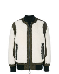 Drome Combined Panel Bomber Jacket