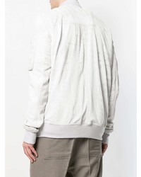 Rick Owens Dirt Leather Bomber Jacket