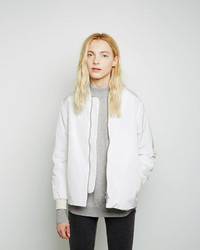 Women's White Bomber Jackets from La Garçonne | Women's Fashion