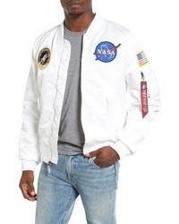 Lightweight nasa l 2b bomber jacket medium 3652691