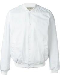 MAISON KITSUNÉ Maison Kitsun Logo Patch Bomber Jacket