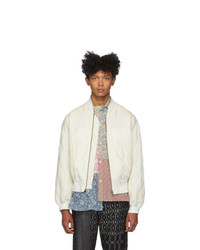 Haider Ackermann Off White Dali Bomber Jacket