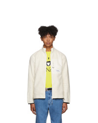 Kenzo Off White Polar Tech Jacket