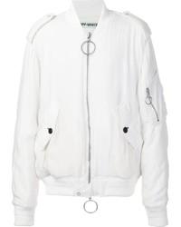 Off-White Soft Bomber Jacket