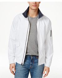 Izod Rib Raincoat And Windbreaker Bomber Jacket