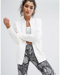 adidas Xbyo White Bomber Jacket