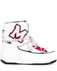 MSGM X Moon Boot Apres Ski Boots