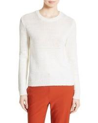Theory Yulia Summer Boucle Merino Wool Sweater