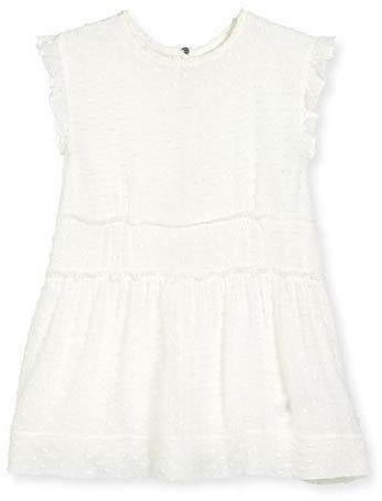 f6264b977e5b Burberry Janina Sleeveless Boucle Shift Dress White Size 4 14