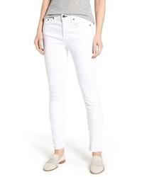Jean high waist step hem slim boyfriend jeans medium 4344077