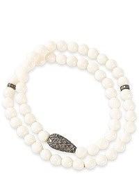 Ali Grace Beaded Wrap Bracelet