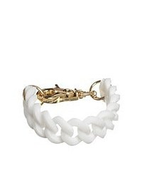 Cheap Monday White Chunky Bracelet