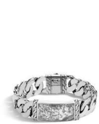 Classic silver id bracelet medium 3669361