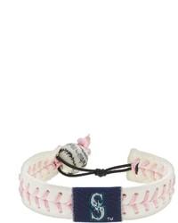Gamewear Seattle Mariners Leather Baseball Bracelet