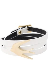McQ by Alexander McQueen Mcq Alexander Mcqueen Swallow Triple Wrap Bracelet