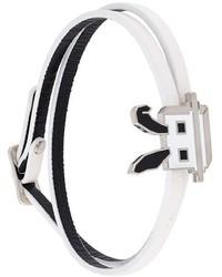 McQ by Alexander McQueen Mcq Alexander Mcqueen Electro Bunny Wrap Bracelet