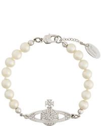 Vivienne Westwood Pewter Bracelet