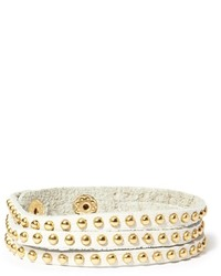 Forever 21 Studded Faux Leather Bracelet