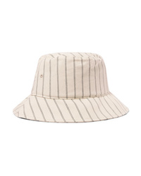 Rag & Bone Ellis Striped Cotton Bucket Hat