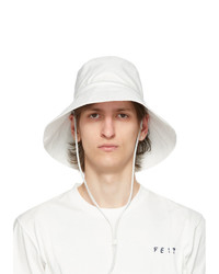 Feit White Organic Cotton Utility Hat