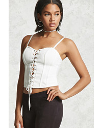 Lace up bustier top medium 3785226