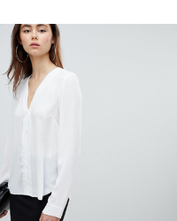 Asos Tall Asos Design T Sleeve V Neck Blouse