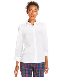 Tommy Hilfiger Button Down High Low Shirt