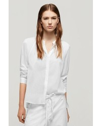 Rag and Bone Cape Blouse Bright White