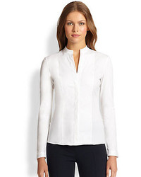 Akris Punto Essentials Poplin Blouse