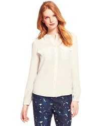 Tommy Hilfiger Long Sleeve Solid Blouse