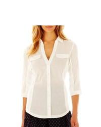 MNG by Mango Woven Shirt White