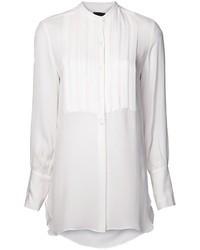 Nili Lotan Long Tuxedo Shirt