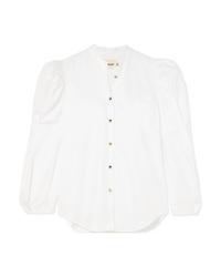 Khaite Rebecca Cotton Poplin Shirt