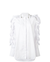Preen by Thornton Bregazzi Ruffled Oversized Shirt