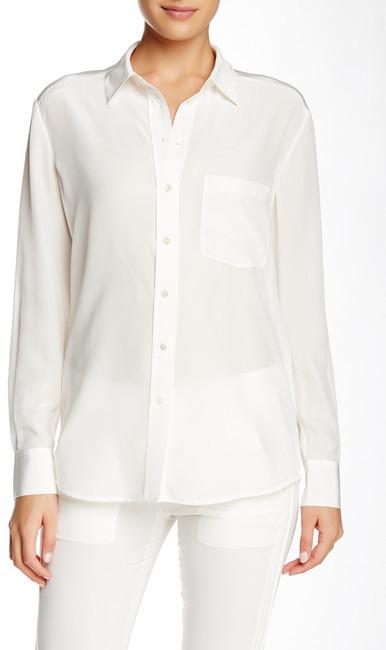 d3eb5d78ba7984 Vince Spread Collar Linen Silk Blouse, $275   Nordstrom Rack ...