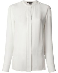 Vince Round Neck Blouse