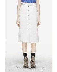 Rag and Bone Branson Skirt White