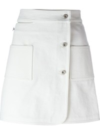 Courreges Courrges Buttoned Skirt