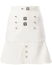 Peter Pilotto Buttoned Peplum Skirt