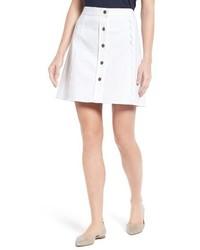 Draper James Stretch Denim Miniskirt