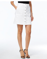 Vince Camuto Two By Button Front Denim Skirt