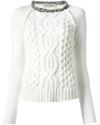 White cable sweater original 1333581
