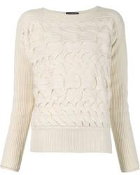 Alexander McQueen Braided Sweater