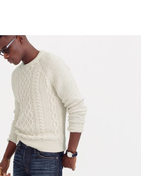 J.Crew Cable Cotton Sweater
