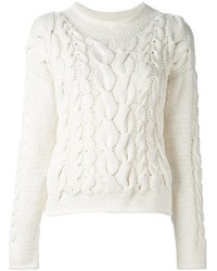 Malo Cable Knit Pullover